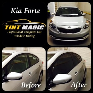Kia Forte Window Tint at Tint Magic Coral Springs