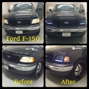Ford F150 at Tint Magic Coral Springs