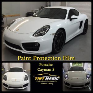 Tint Magic: Porsche Cayman S Paint Protection Film Parkland, Coral Springs, Coconut Creek, Sunrise, Weston