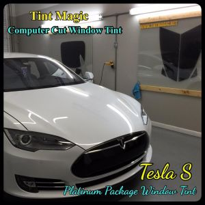 Tesla S Window Tinting at Tint Magic Window Tint Coral Springs