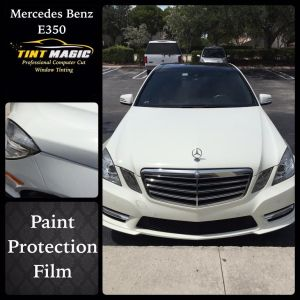 Tint Magic Mercedes Benz E350 Paint Protection Film Coconut Creek, Coral Springs, Parkland, Sunrise, Weston, Tamarac