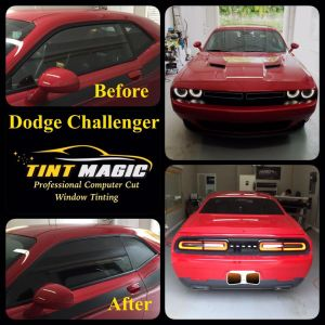 Dodge Challenger at Tint Magic Window Tint Sunrise