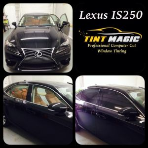 Lexus IS250 at Tint Magic Window Tint Coral Springs
