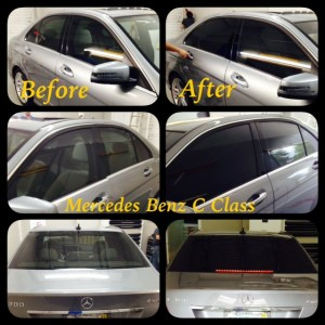 Mercedes Benz C Class at Tint Magic Window Tint