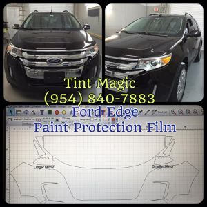 Ford Edge Paint Protection Film at Tint Magic Window Tinting