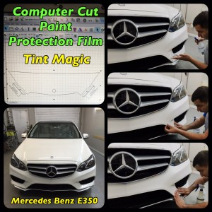 Mercedes Benz E350 PPF At Tint Magic Window Tinting