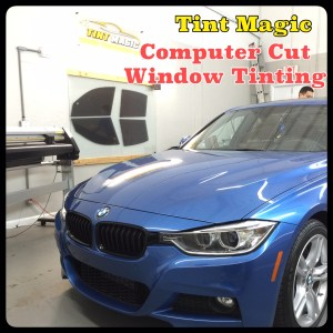 BMW 335I at Tint Magic Computer Cut Window Tinting