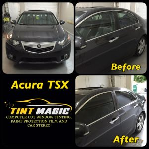 Acura TSX at Tint Magic Window Tinting Coral Springs
