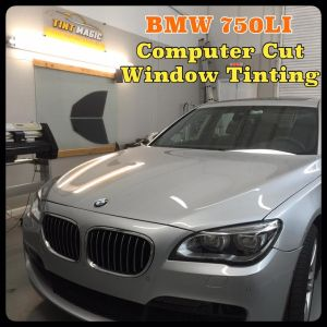BMW 750LI at Tint Magic Window Tinting Coral Springs