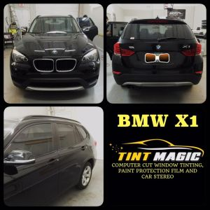 BMW X1 at Tint Magic Windsow Tinting Coral Springs