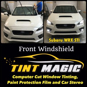 Subaru WRX Window Tint at Tint Magic Window Tinting Coral Springs