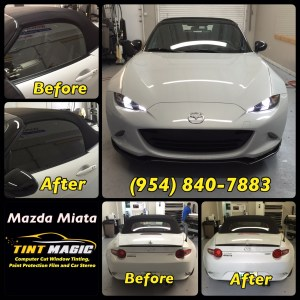 Mazda Miata - Tint Magic Window Tinting