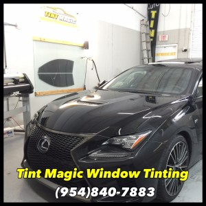 Lexus RC Tint Magic Window Tinting