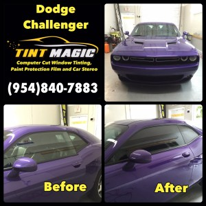 Dodge Challenger-Tint Magic Window Tinting Coral Springs