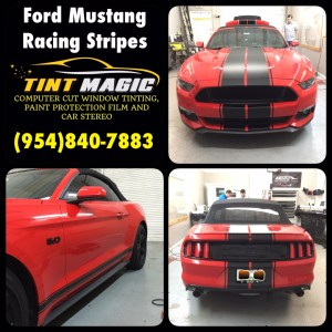 Ford Mustang at Tint Magic Window Tinting
