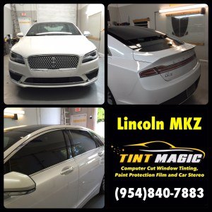 Lincoln MKZ at Tint Magic Window Tinting