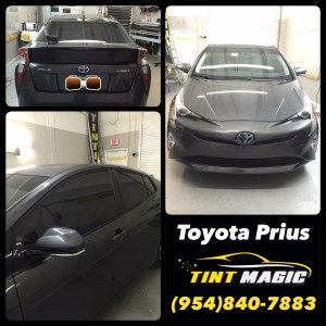 Toyota Prius at Tint Magic Window Tinting
