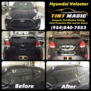 Hyundai Veloster at Tint Magic Window Tint
