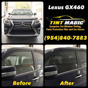 Lexus GX460 at Tint Magic Window Tinting Coral Springs