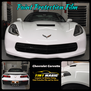 Chevrolet Corvette Paint Protection Film at Tint Magic Window Tinting Coral Springs