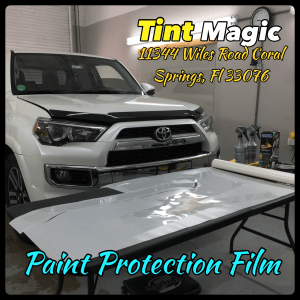 Toyota 4 Runner Paint Protection Film at Tint Magic Window Tinting