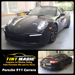 Porsche 911 Carrera at Tint Magic Window Tint Coral Springs