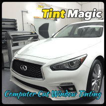 Infiniti at Tint Magic Window Tinting