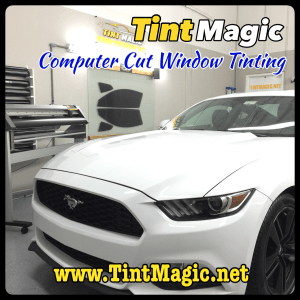 Ford Mustang Window Tint at Tint Magic Window Tinting Coral Springs