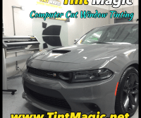 Dodge Charger at Tint Magic window Tinting Coral Springs