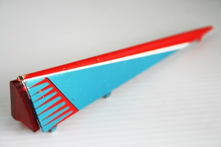 Masudaya Tin Wing Fin Right Space Pioneer