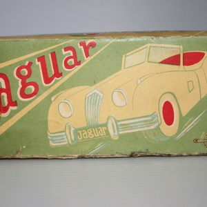 Kohno Kakuzo KK Japan 50's Jaguar XK 140 Convertible Friction Fixed Box 6 inches (15 cm) original toy box