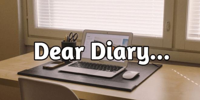 cara menulis catatan harian Sebagai Curahan Hati