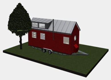 Entwurf Tiny House