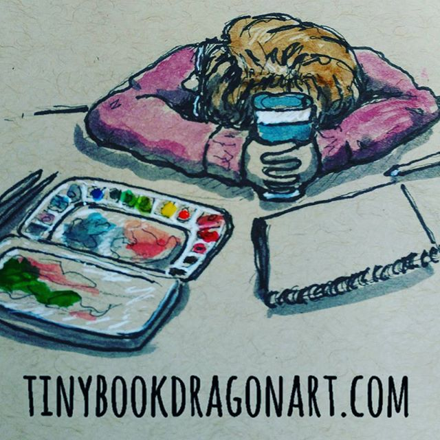 Me on daylight savings. Stupid lack of sleep.#daylightsavings #ineedsleep #art #illustration #instart #illustration #drawing #Watercolor #artistproblems #painting #sketchbook #sketches #dailysketch #selfportrait #memyselfandi #prismacolor #ink #windsornewtoncotman #paint #strathmore #tonedpaper
