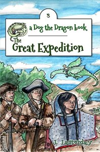 Book Cover: The Great Expedition: An Early Chapter Book (Dog the Dragon 3)