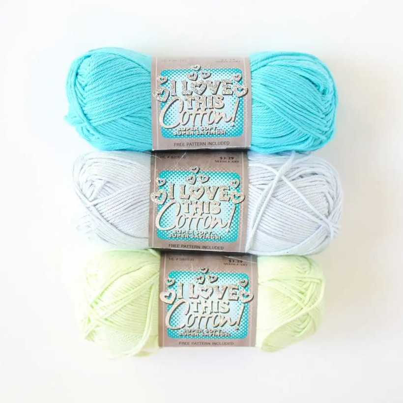 All About Cotton Yarns Tiny Curl Crochet
