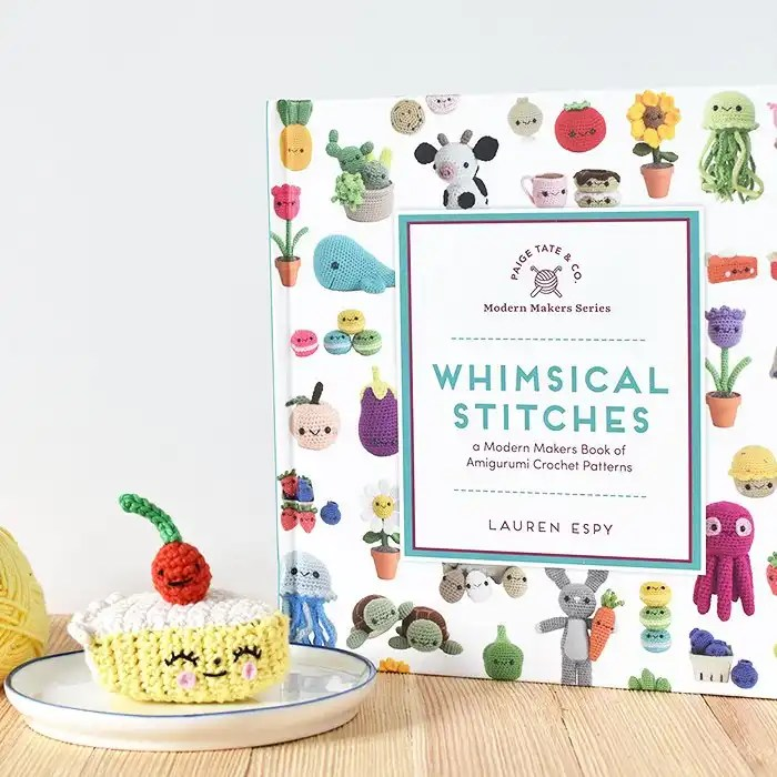 Whimsical Stitches Book Review   Tiny Curl