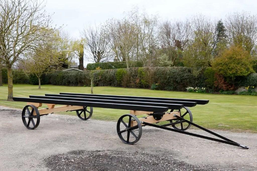 Oak chassis courtesy of Harrogate Huts.