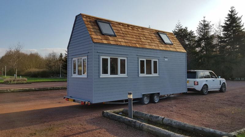 Custom Built Tiny Home Uk Eco Friendly Road Towable Tiny House