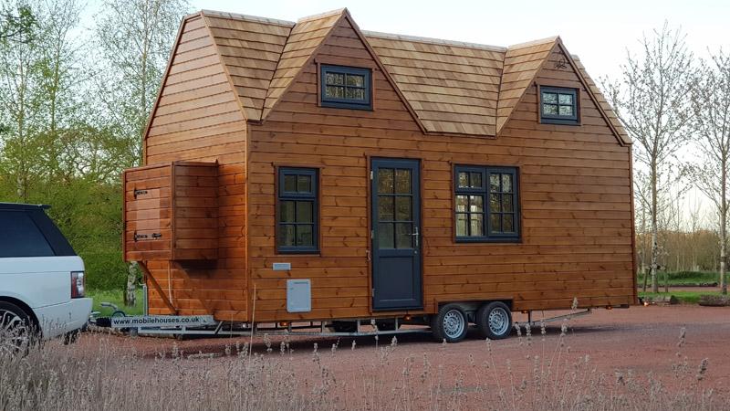 Tiny Homes Example Eco Friendly Fully Mobile Tiny Home