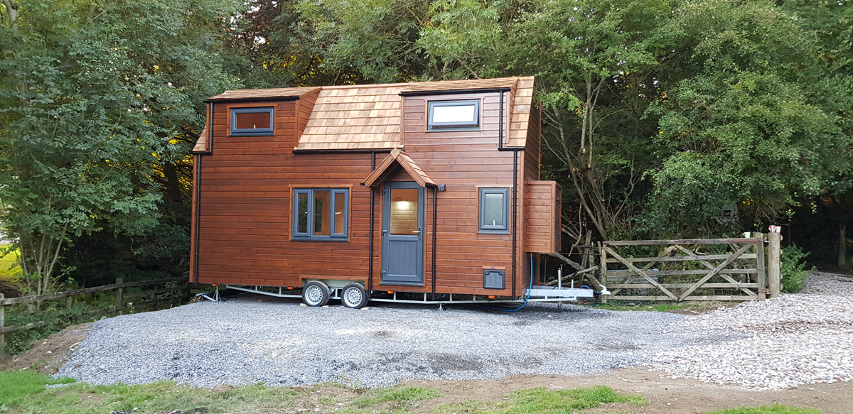 Custom Built Tiny Home In The Uk Tiny Home Client Example