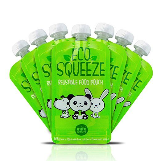 Best reusable baby food pouches