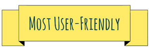 Most user friendly