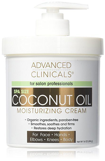 Coconut oil cream