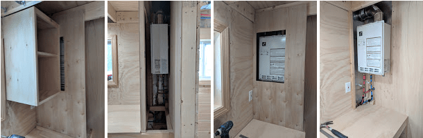 tiny house water heater. The Propane Hot Water Heater. Tiny House Heater