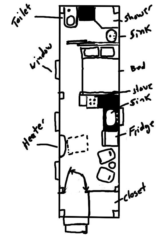 Minimal mansion timber frame tiny house for Minimal house plan