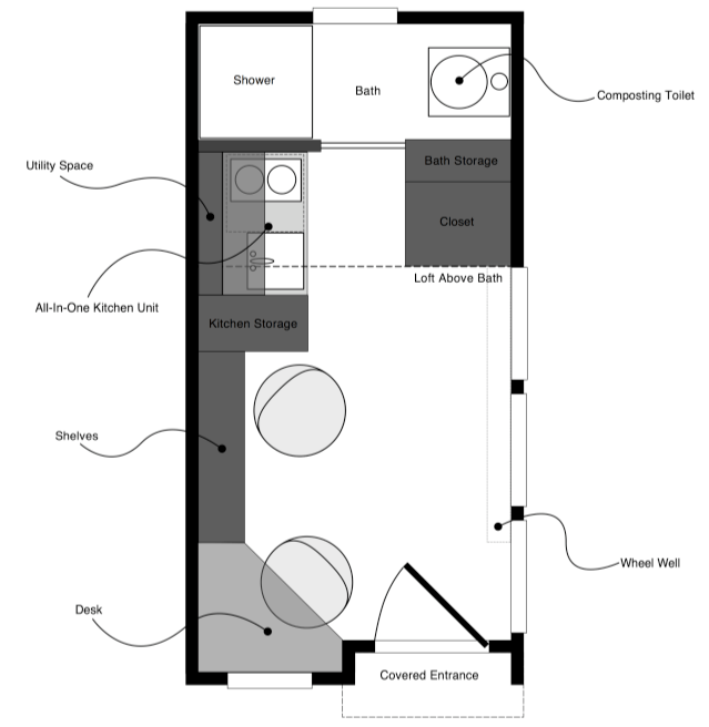 updated tiny solar house plans