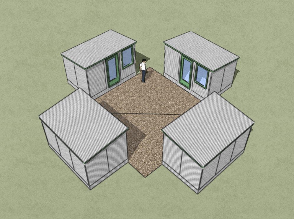 Shed Cluster Concept