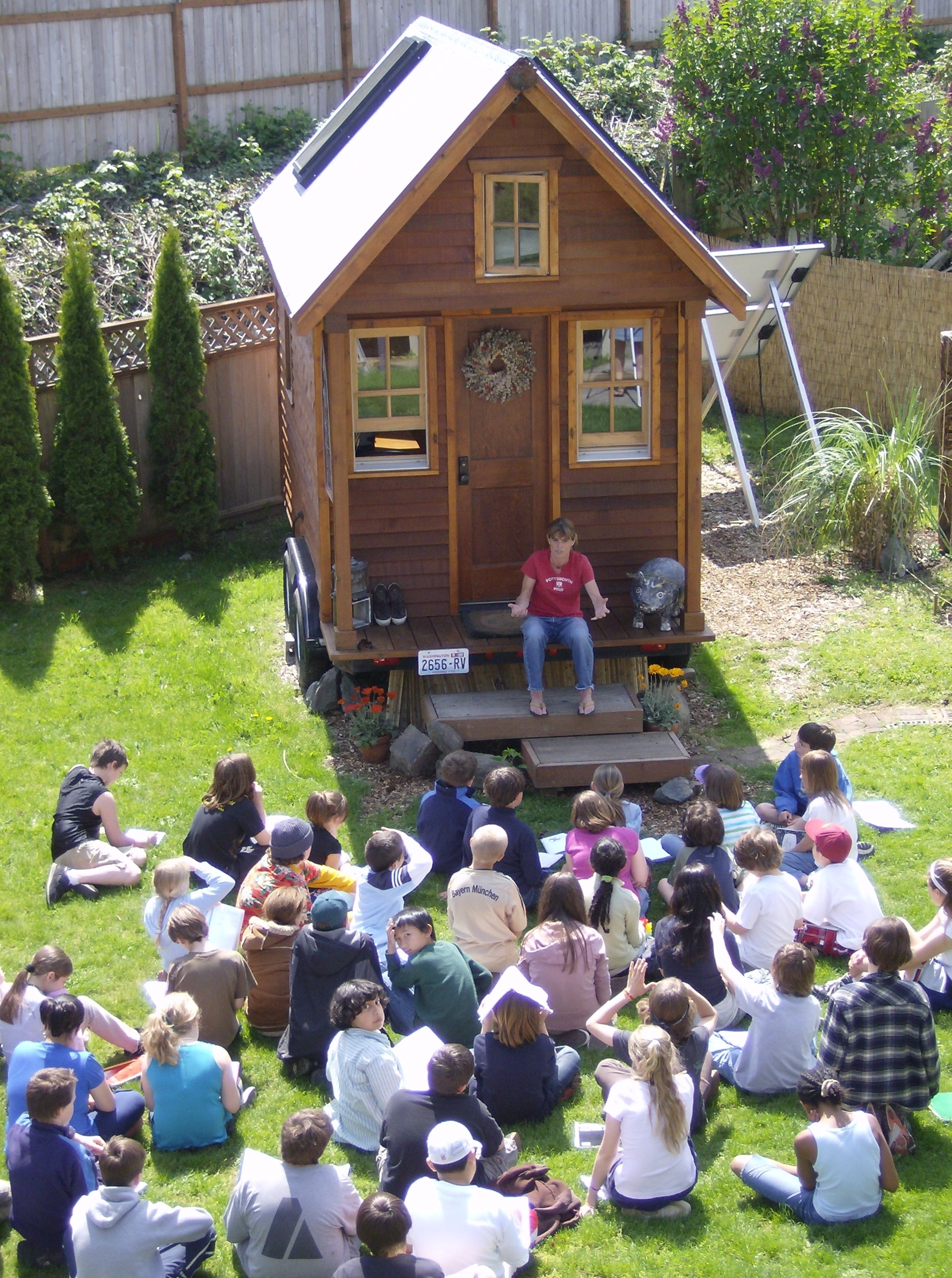 little house construction workshop with dee williams