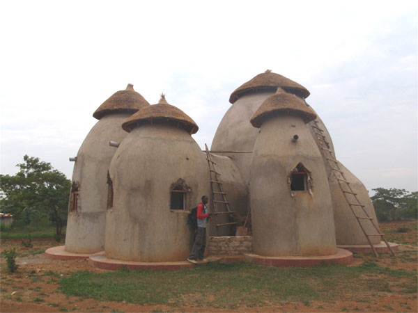 Earthbag Eco-village in Uganda